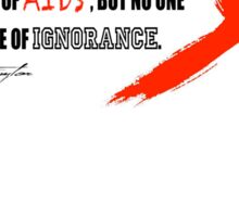 AIDS Sticker