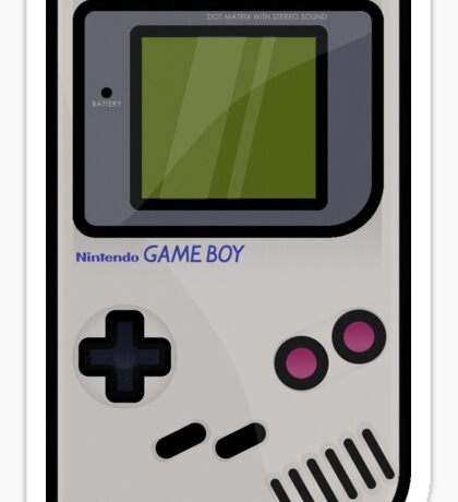 Gameboy - Nintendo - Game Sticker
