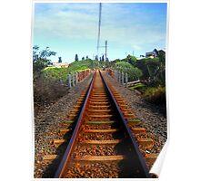Rusty Railway Poster