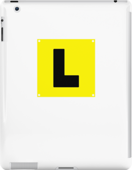 L plate Learner Driver by SmartTees
