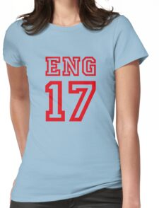 ENGLAND 17 Womens Fitted T-Shirt