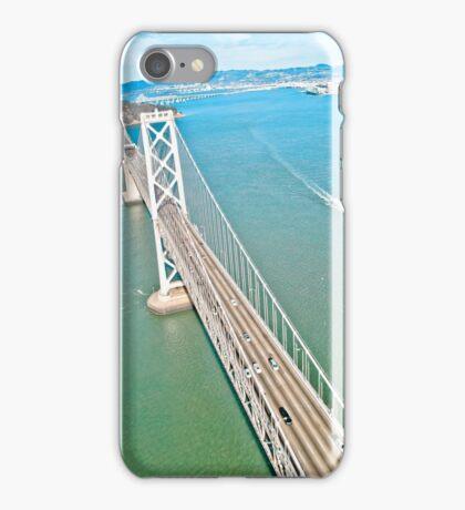 Bay Bridge Aerial View iPhone Case/Skin