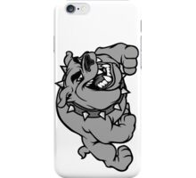 the spiteful dog protects you iPhone Case/Skin