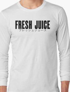Fresh Juice Purintoshatsu Black Print T-Shirt