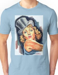 """Marlene Dietrich """"Der Blaue Engel / The Blue Angel"""" Unisex T-Shirt"""