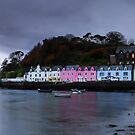 Portree Harbour by Rachel Slater