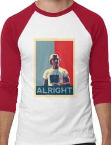 Wooderson (dazed & confused movie quote) - Alright Alright Alright Men's Baseball ¾ T-Shirt
