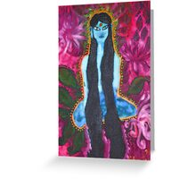 Forest Yogini Greeting Card
