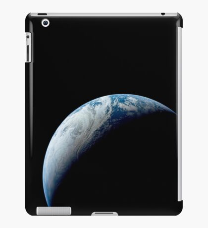 Crescent Earth taken from the Apollo 4 mission. iPad Case/Skin