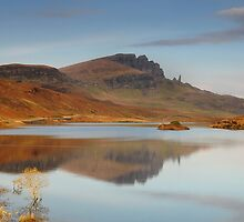 Old man of Storr reflection by Rachel Slater