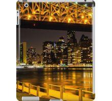 Manhattan by night iPad Case/Skin