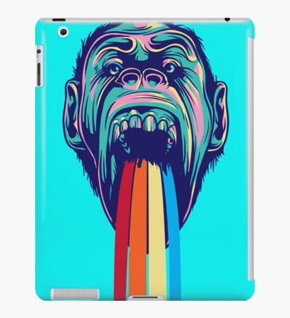 RAINBOW KONG! RAINBOW KONG! RAINBOW KONG! iPad Case/Skin