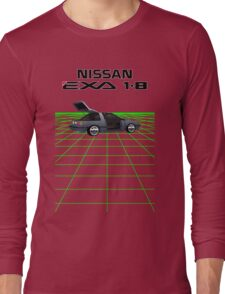 Nissan N13 Exa Coupe Long Sleeve T-Shirt