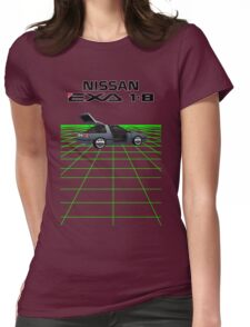 Nissan N13 Exa Coupe Womens Fitted T-Shirt
