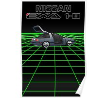 Nissan N13 Exa Coupe Poster