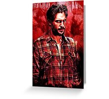 Alcide Herveaux Greeting Card