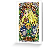 zelda Greeting Card