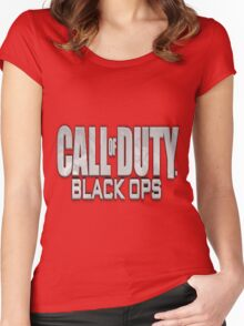 Call Of Duty Women's Fitted Scoop T-Shirt