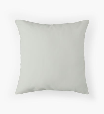 Soft Green Throw Pillow