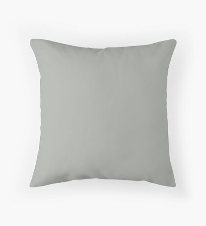 Vintage Grey Throw Pillow
