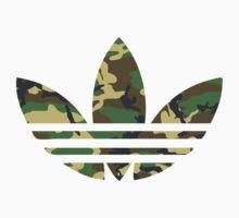Adidas Trefoil Original Woodland Camo Kids Clothes