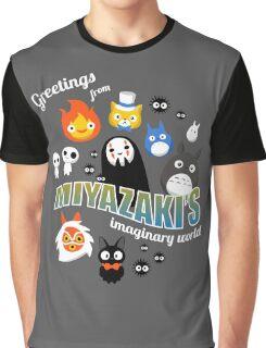 Studio Ghibli Greetings Graphic T-Shirt