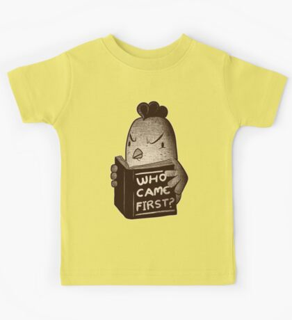 Chicken Who Came First Kids Tee