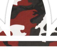 Adidas Trefoil Original Red Camo Sticker