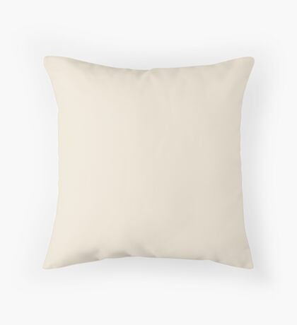 Vintage Crème Throw Pillow