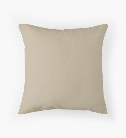 Dark Sand Throw Pillow