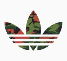 Adidas Trefoil Original Hunter Camo Kids Clothes