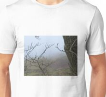 Trees and mist Unisex T-Shirt