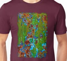 Rustic Metal Peeling Paint - Beauty in Decay Unisex T-Shirt