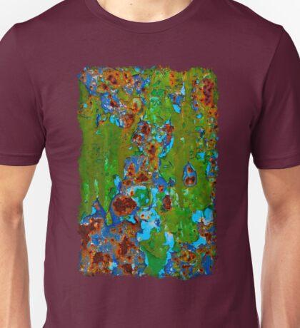 Rustic Metal Peeling Paint - Beauty in Decay Unisex T-Shirt