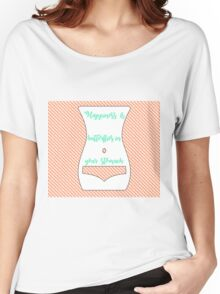 Happiness is butterflies in your stomach Women's Relaxed Fit T-Shirt