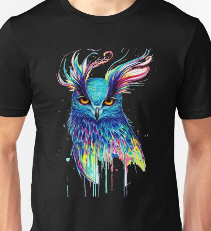 owls art  Unisex T-Shirt