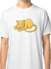 Cute cartoon tiger Classic T-Shirt