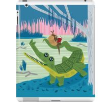 The Alligator and The Armadillo Coque et skin iPad