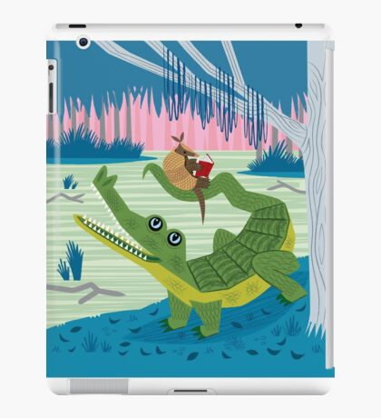 The Alligator and The Armadillo iPad Case/Skin