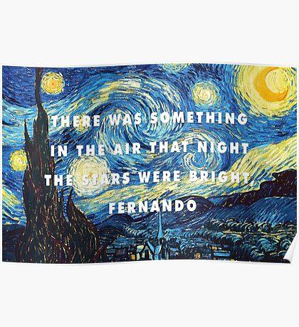 Fernando Van Gogh Poster
