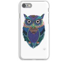 cute owl art iPhone Case/Skin