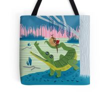 The Alligator and The Armadillo Tote bag