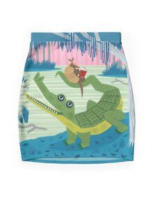 The Alligator and The Armadillo Minijupe