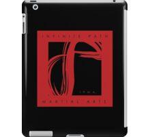 Infinite Path Martial Arts Logo - Red (2001) iPad Case/Skin