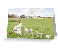 A Walk in the Country Greeting Card