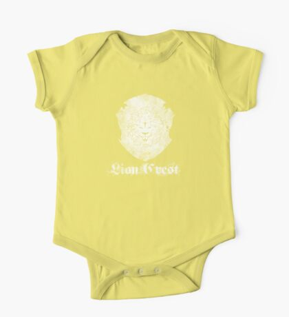 Lion Crest® - Washed out Crest One Piece - Short Sleeve