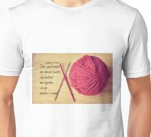 Psalm 139 Knitted together Unisex T-Shirt