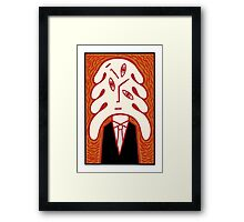 Thinking about it Framed Print