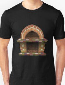 Glitch furniture fireplace rustic oven T-Shirt