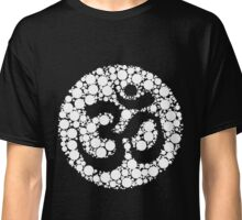 Om Symbol Circles Inverted White Classic T-Shirt